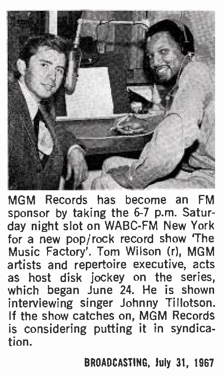 Tom wilson producer