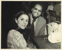 Wilson and his secretary Phyllis Smith at Greenwich Village club, 1966-67. Photo by Popsie