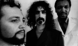 Mothers of Invention manager Herb Cohen, Frank Zappa, and Tom Wilson, 1967. Photograph: John Hodder